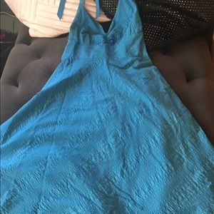 Blue J. Crew A-line Dress SZ 4 👗